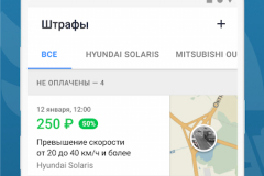 250 рублей  штраф