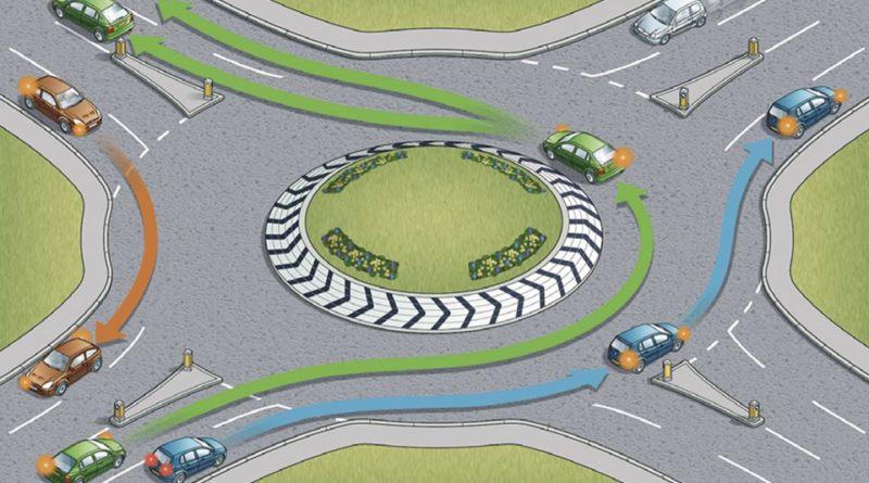 Как проезжать круговое движение по новым правилам