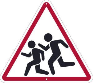 Описание дорожного знака дети