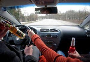 Повторное лишение водительских прав за пьянку